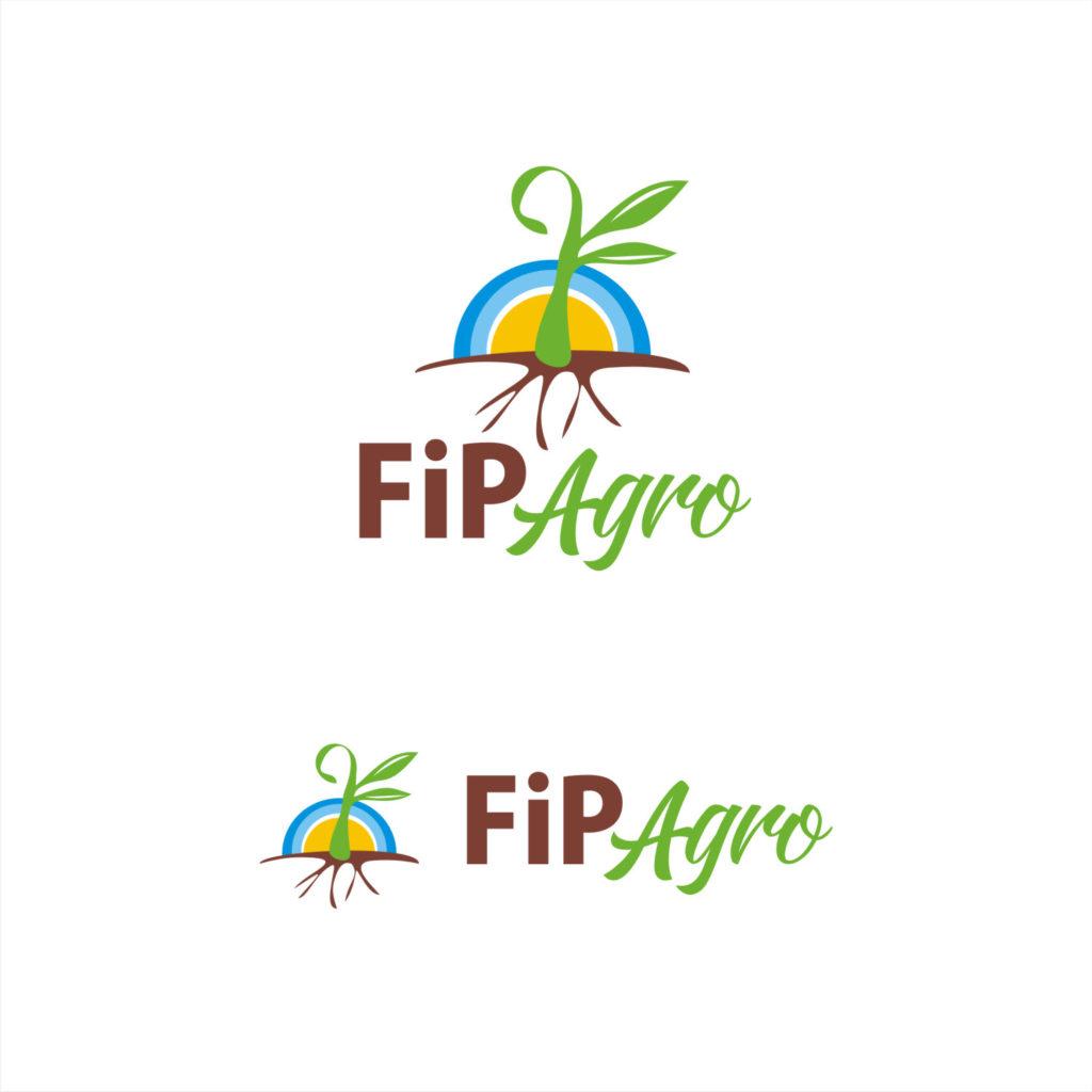 logotipos agrícolas empresas pecuária agro tech pop